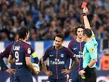 """Der Sport-Tag: """"Unfairer"""" Platzverweis bringt Neymar in Rage"""