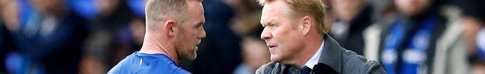 Der Sport-Tag: 17:07 Rooney-Klub schmeißt nach Absturz den Trainer raus