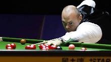 Verband sperrt Ex-Weltmeister: Snooker-Star Bingham hat illegal gewettet