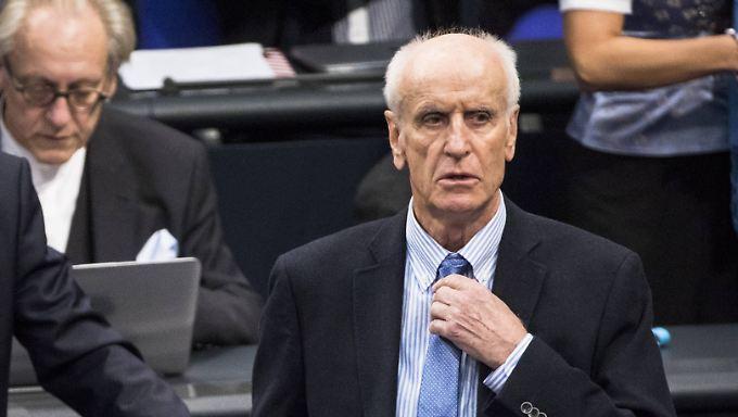 Wird Albrecht Glaser im vierten Anlauf Vizepräsident des Deutschen Bundestags?