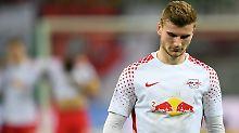 Fehlschuss gegen FC Bayern: Werner leidet an seinem bitteren Pokalabend