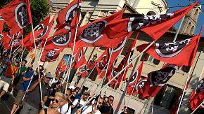 Kampftraining und Mussolini: Neofaschistische Organisation stachelt Italiener an