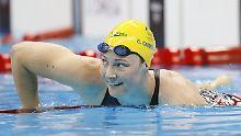 Der Sport-Tag: Australierin bricht Schwimm-Weltrekord