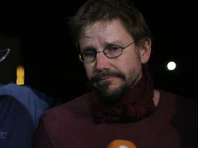 Peter Steudtner ist nach seiner Entlassung bewegt - und will nur noch zu seiner Familie.