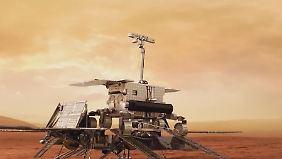 """Spaziergang im Universum: """"Google Mars"""" zeigt VR-Usern roten Planeten"""