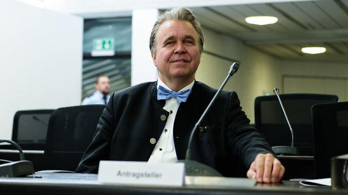 Die AfD-Fraktion will Heinrich Fiechtner gerne komplett ausschließen.
