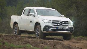 Einstieg ins Pick-up-Geschäft: So schlägt sich die neue Mercedes X-Klasse