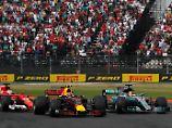 Aufholjagd beim Mexiko-GP: Vettel fightet nach Kollision mit Hamilton