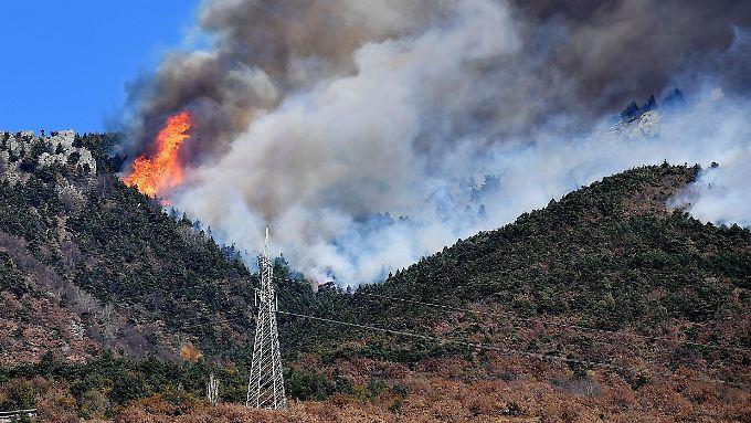 Waldbrand im Susatal