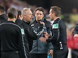 """""""Collinas Erben"""" unglücklich: Selbst der Referee versteht Streichs Wut"""