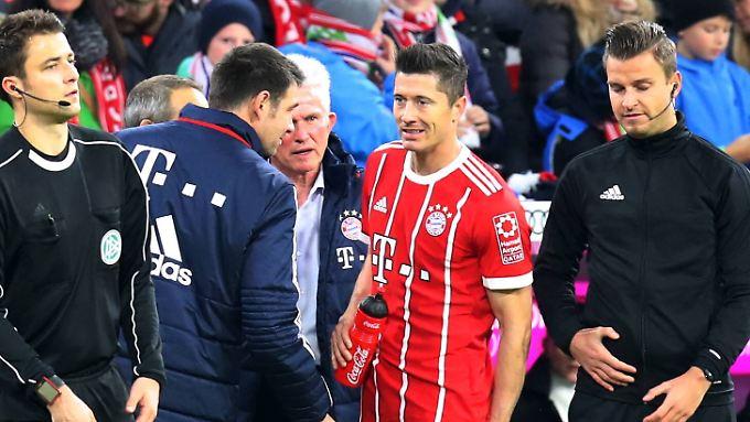 Lewandowski wird für die Champions League geschont.