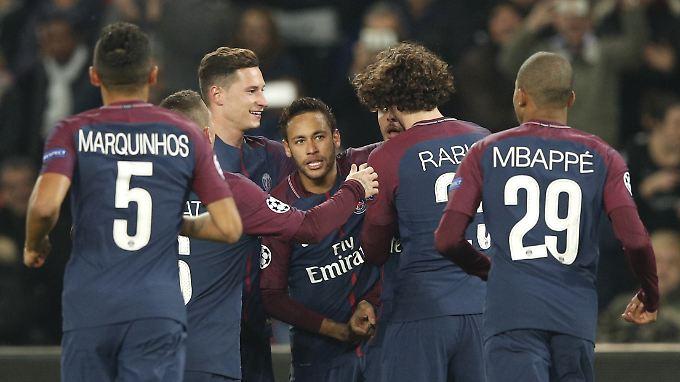 Paris setzt gegen Anderlecht in der Champions League ein weiteres Ausrufezeichen.