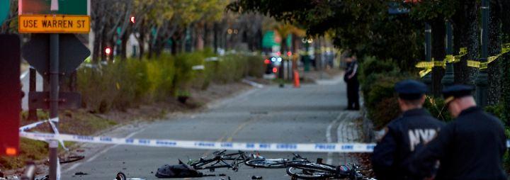 Terror in New York: Attentäter tötet in Manhattan acht Menschen