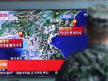 Angeblich mehr als 200 Tote: Tunnel stürzt nach Atomtest in Nordkorea ein