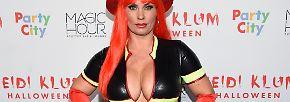 Halloween ist vorbei: Verkleidet bis zur Unkenntlichkeit