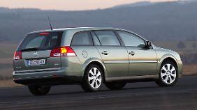 Mit 4,84 Metern sprengte der Opel Vectra seinerzeit die Grenzen seiner Klasse.