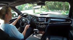 Wer das Interieur des Cadillac CT6 genau betrachtet, dürfte stark an den Opel Insignia erinnert werden.