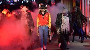 """Promi-News des Tages: Heidi Klum gibt den """"Thriller""""-Werwolf"""