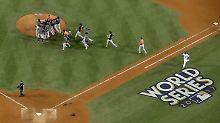 Für die Astros ist es der erste Triumph in der Major League Baseball.