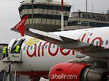 Reicht Geld aus Verkauf?: Air-Berlin-Mitarbeiter bangen um Gehälter