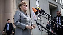 """""""Die Enden zusammenbinden"""": Merkel äußert sich erstmals zu Jamaika"""