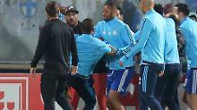 Der Sport-Tag: Evra-Tritt Teil II: Marseille rügt seinen Profi