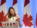 Neues Gesetz greift: Kanada verhängt Sanktionen gegen Russland