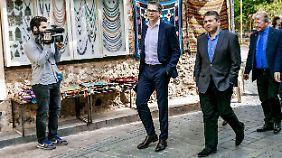 Gabriel unternahm auch einen kleinen Ausflug in die Altstadt Antalyas.