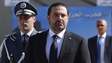 Angst vor Attentat: Libanons Ministerpräsident tritt zurück
