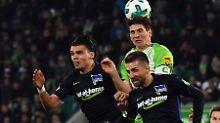 Viel Kampf und kein Sieger: Der VfL Wolfsburg und Hertha BSC trennen sich 3:3.