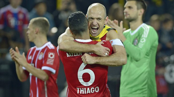 Die Bayern haben es wieder allen gezeigt: Sie sind die Besten der Liga.