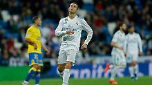 Wieder nichts Zählbares für Cristiano Ronaldo.