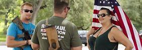 Mit Sturmgewehr ins Restaurant: Texanischer Verein will Kriegswaffen offen tragen