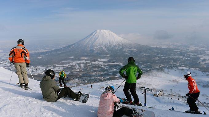 Das Skigebiet Niseko ist sehr beliebt.