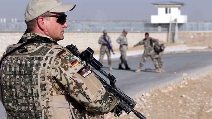 Noch unklar: Deutschlands Beteiligung an der Truppenaufstockung.
