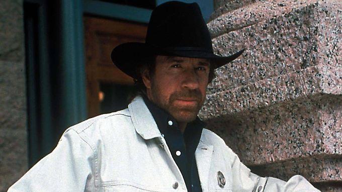 Es kann nur einen geben: Chuck Norris.