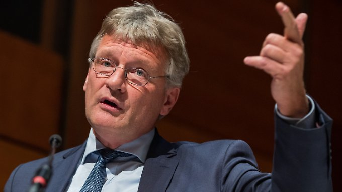 Jörg Meuthen möchte seine eurokritische AfD auf europäischer Ebene wieder stark machen.