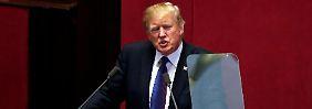 """Warnung an Nordkorea: Trump: """"Fordert uns nicht heraus"""""""