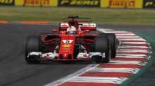 Die Kurve Richtung WM-Titel will Sebastian Vettel dann 2018 kriegen.