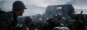 "Ego-Shooter ""CoD: WWII"" im Test: ""Call of Duty"" fasziniert mit 360-Grad-Chaos"