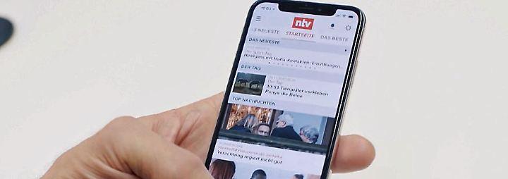 n-tv Ratgeber: Der erste Blick: iPhone X