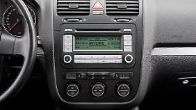 Auch das CD-Radio stellte zur damaligen Zeit im Auto eine Revolution dar.
