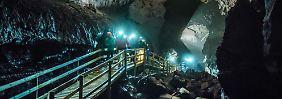 Wo ist der isländische Troll?: Lavahöhle Vidgelmir birgt dunkle Geheimnisse