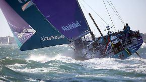 Dauerstress auf zweiter Etappe: Volvo Ocean Race führt Segelcrews an die Grenzen