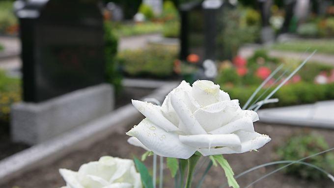 Wegen feuchter Böden, wie auf dem Friedhof im ostfriesischen Ostrhauderfehn, verwesen viele Tote während der 15- bis 30-jährigen Ruhezeit für Gräber nicht vollständig und werden zu sogenannten Wachsleichen.