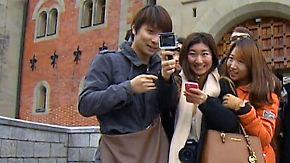 Sightseeing im Schnelldurchlauf: Chinesische Touristen lieben Deutschland
