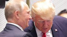Wahlkampf-Einmischung Russlands: Trump glaubt Putin mehr als Geheimdiensten