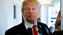 """""""Klein und fett"""": Trump mokiert sich über Kim Jong Un"""