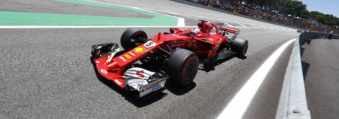 """Hamilton ermahnt sich selbst: Vettel setzt auf die Rosberg-""""Methode"""""""