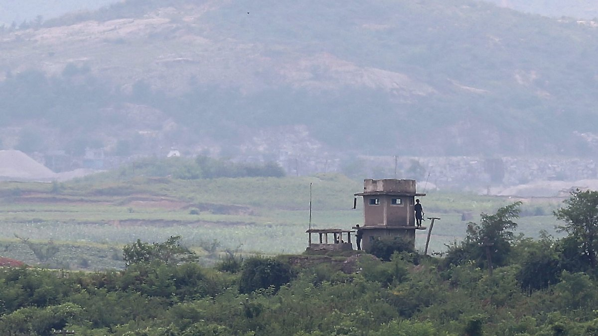 Briefe Nach Südkorea : Verletzter nordkoreaner geborgen soldat flieht trotz